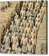 Terra Cotta Warriors Acrylic Print