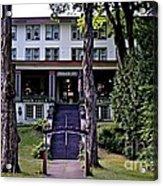 Terrace Inn Acrylic Print