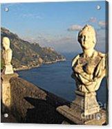 Terrace Of Infinity In Ravello On Amalfi Coast Acrylic Print