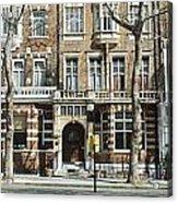 Terraced Houses In Kensington Acrylic Print