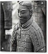 Terracotta Army Warriors In Xian China Acrylic Print