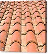 Terracotta Tiles Acrylic Print