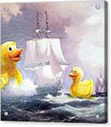 Terror On The High Seas II Acrylic Print