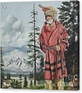 Terry The Mountain Man Acrylic Print