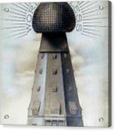 Tesla's Wardenclyffe Tower Laboratory Acrylic Print