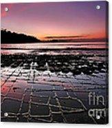 Tesselated Pavement Sunrise Acrylic Print