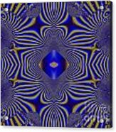 Test Pattern Acrylic Print by Bobby Hammerstone