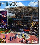 Test Track Opening 1999 Acrylic Print