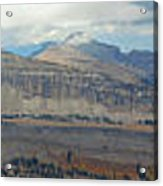 Teton Canyon Shelf Acrylic Print