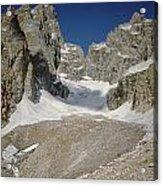 1m9385-teton Glacier Acrylic Print