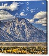 Teton Glory Acrylic Print by Mark Kiver