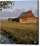 Teton Morning Magic Acrylic Print