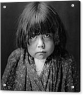 Tewa Indian Child Circa 1905 Acrylic Print