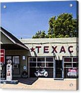 Texaco Nm Acrylic Print