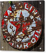 Texaco Sign Acrylic Print