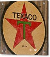 Texaco Star Acrylic Print