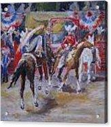 Texan Rodeo Acrylic Print