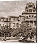 Texas A And M Academic Plaza - College Station Texas Acrylic Print