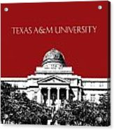 Texas A And M University - Dark Red Acrylic Print
