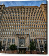 Texas And Pacific Lofts Color Acrylic Print