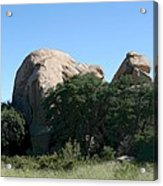 Texas Canyon Megaliths  Acrylic Print