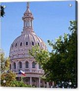 Texas Capital Dome Acrylic Print