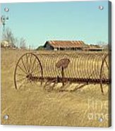 Texas Hill Country Farmscape Acrylic Print