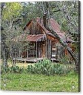 Texas Hill Country House Acrylic Print