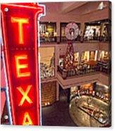 Texas In Lights Acrylic Print