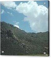 Texas Rock Mountian Acrylic Print