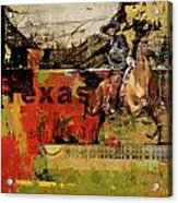 Texas Rodeo Acrylic Print by Corporate Art Task Force