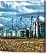 Texas Silos Acrylic Print