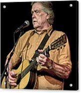 Texas Singer Songwriter Guy Clark Acrylic Print