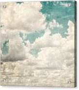 Texas Skies Acrylic Print