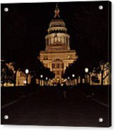 Texas State Capital Acrylic Print