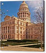 Texas State Capitol Building Acrylic Print