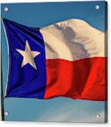 Texas State Flag - Texas Lone Star Flag Acrylic Print