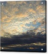 Texas Storm Cloud Sunset Acrylic Print