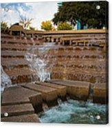 Texas Water Gardens Acrylic Print