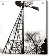 Texas Windmill 2 Acrylic Print