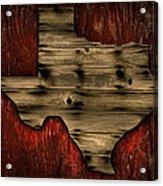 Texas Wood Acrylic Print
