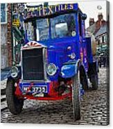 Textile Truck Colour Acrylic Print