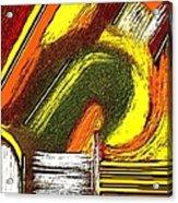 Textural 195 Acrylic Print
