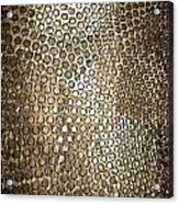 Texture Of Gong Acrylic Print