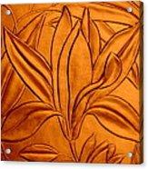 Textured Flower3 Acrylic Print