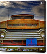 Textured Ford Truck 1 Acrylic Print