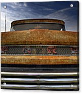 Textured Ford Truck 2 Acrylic Print