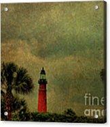 Textured Lighthouse Acrylic Print