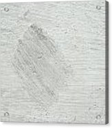 Textured Stone Background Acrylic Print by Tom Gowanlock
