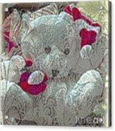 Textured Teddy Acrylic Print